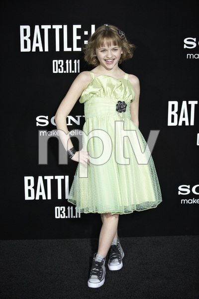 """""""Battle: Los Angeles"""" Premiere  Joey King3-8-2011 / Columbia Pictures / Regency Village Theater / Westwood CA / Photo by Benny Haddad - Image 24037_0069"""
