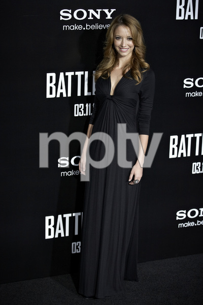 """""""Battle: Los Angeles"""" Premiere  Taryn Southern3-8-2011 / Columbia Pictures / Regency Village Theater / Westwood CA / Photo by Benny Haddad - Image 24037_0140"""