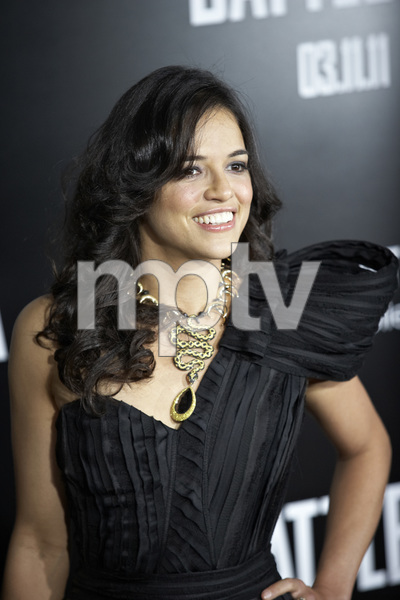"""""""Battle: Los Angeles"""" Premiere   Michelle Rodriguez 3-8-2011 / Columbia Pictures / Regency Village Theater / Westwood CA / Photo by Benny Haddad - Image 24037_0155"""