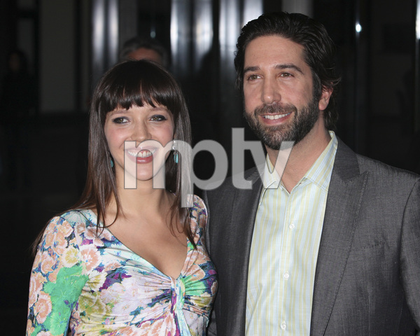 """Trust"" PremiereZoe Buckman, David Schwimmer 3-21-2011 / Millennium Entertainment / DGA Theater / Hollywood CA / Photo by Imeh Akpanudosen - Image 24042_0116"