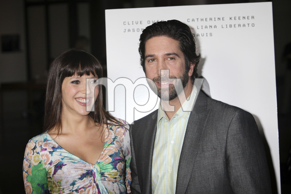 """Trust"" PremiereZoe Buckman, David Schwimmer 3-21-2011 / Millennium Entertainment / DGA Theater / Hollywood CA / Photo by Imeh Akpanudosen - Image 24042_0121"