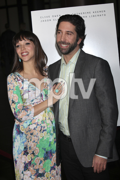 """Trust"" PremiereZoe Buckman, David Schwimmer 3-21-2011 / Millennium Entertainment / DGA Theater / Hollywood CA / Photo by Imeh Akpanudosen - Image 24042_0133"