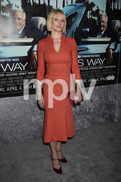 """His Way"" Premiere Ellen Barkin 3-22-2011 / HBO / Paramount Theater / Hollywood CA / Photo by Imeh Akpanudosen - Image 24043_0009"