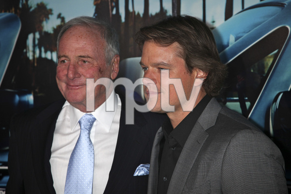 """His Way"" Premiere Jerry Weintraub, Matt Damon 3-22-2011 / HBO / Paramount Theater / Hollywood CA / Photo by Imeh Akpanudosen - Image 24043_0086"
