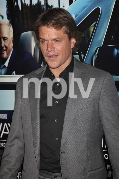"""His Way"" Premiere Matt Damon 3-22-2011 / HBO / Paramount Theater / Hollywood CA / Photo by Imeh Akpanudosen - Image 24043_0101"