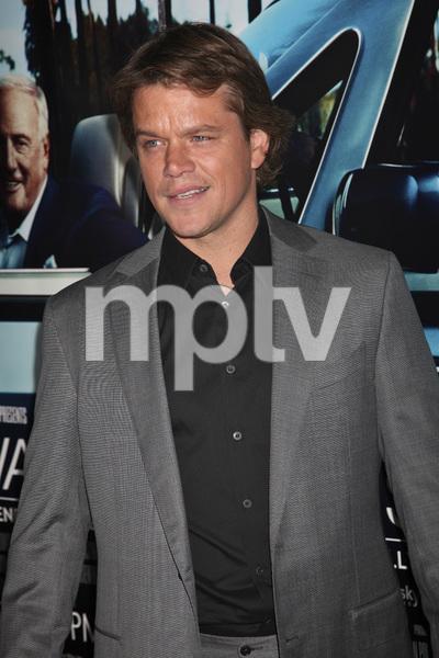 """His Way"" Premiere Matt Damon 3-22-2011 / HBO / Paramount Theater / Hollywood CA / Photo by Imeh Akpanudosen - Image 24043_0102"