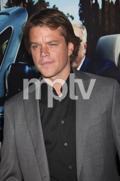 """His Way"" Premiere Matt Damon 3-22-2011 / HBO / Paramount Theater / Hollywood CA / Photo by Imeh Akpanudosen - Image 24043_0104"