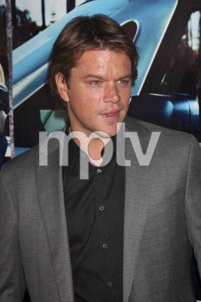 """His Way"" Premiere Matt Damon 3-22-2011 / HBO / Paramount Theater / Hollywood CA / Photo by Imeh Akpanudosen - Image 24043_0105"