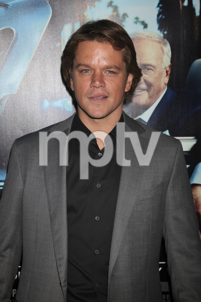 """His Way"" Premiere Matt Damon 3-22-2011 / HBO / Paramount Theater / Hollywood CA / Photo by Imeh Akpanudosen - Image 24043_0107"