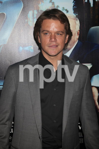 """His Way"" Premiere Matt Damon 3-22-2011 / HBO / Paramount Theater / Hollywood CA / Photo by Imeh Akpanudosen - Image 24043_0108"