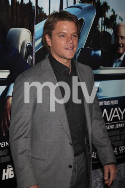 """His Way"" Premiere Matt Damon 3-22-2011 / HBO / Paramount Theater / Hollywood CA / Photo by Imeh Akpanudosen - Image 24043_0111"