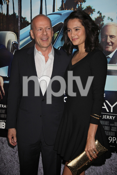 """His Way"" Premiere Bruce Willis, Emma Heming 3-22-2011 / HBO / Paramount Theater / Hollywood CA / Photo by Imeh Akpanudosen - Image 24043_0120"