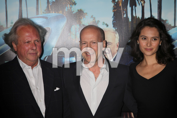 """His Way"" Premiere Graydon Carter, Bruce Willis, Emma Heming 3-22-2011 / HBO / Paramount Theater / Hollywood CA / Photo by Imeh Akpanudosen - Image 24043_0125"