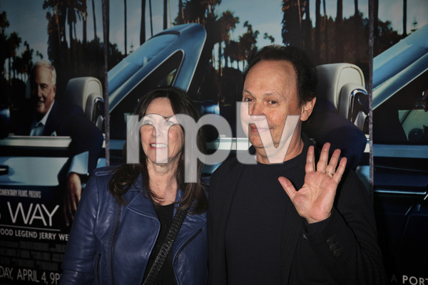 """His Way"" Premiere Janice Goldfinger, Billy Crystal 3-22-2011 / HBO / Paramount Theater / Hollywood CA / Photo by Imeh Akpanudosen - Image 24043_0146"