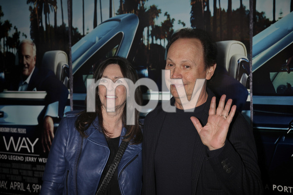"""""""His Way"""" Premiere Janice Goldfinger, Billy Crystal 3-22-2011 / HBO / Paramount Theater / Hollywood CA / Photo by Imeh Akpanudosen - Image 24043_0147"""