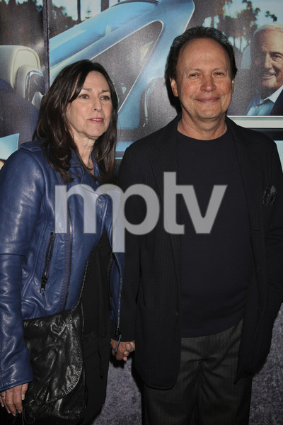 """His Way"" Premiere Janice Goldfinger, Billy Crystal 3-22-2011 / HBO / Paramount Theater / Hollywood CA / Photo by Imeh Akpanudosen - Image 24043_0148"