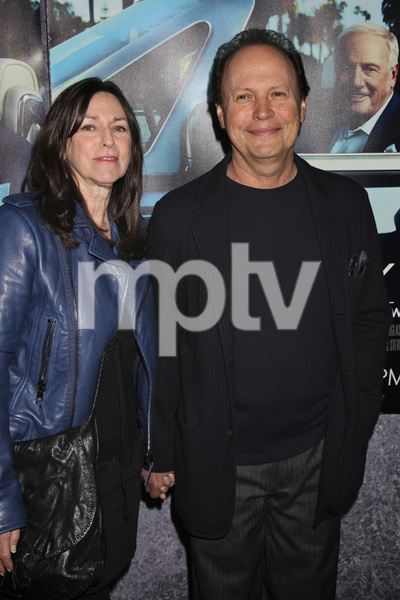 """His Way"" Premiere Janice Goldfinger, Billy Crystal 3-22-2011 / HBO / Paramount Theater / Hollywood CA / Photo by Imeh Akpanudosen - Image 24043_0149"