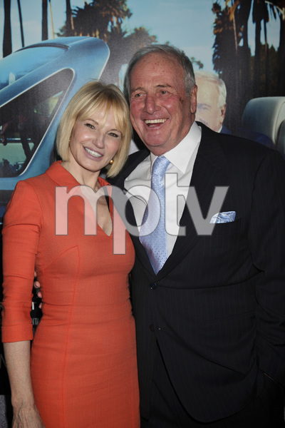 """His Way"" Premiere Ellen Barkin, Jerry Weintraub 3-22-2011 / HBO / Paramount Theater / Hollywood CA / Photo by Imeh Akpanudosen - Image 24043_0185"
