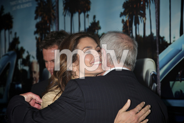 """""""His Way"""" Premiere Cindy Crawford, Jerry Weintraub  3-22-2011 / HBO / Paramount Theater / Hollywood CA / Photo by Imeh Akpanudosen - Image 24043_0201"""