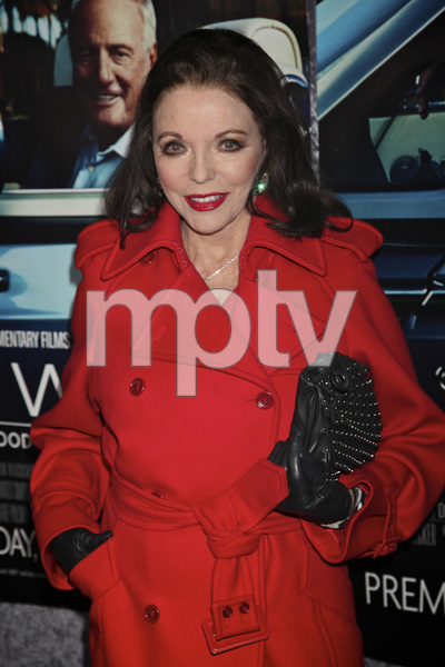 """""""His Way"""" Premiere Joan Collins 3-22-2011 / HBO / Paramount Theater / Hollywood CA / Photo by Imeh Akpanudosen - Image 24043_0231"""