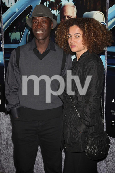 """""""His Way"""" Premiere Don Cheadle, Bridgid Coulter 3-22-2011 / HBO / Paramount Theater / Hollywood CA / Photo by Imeh Akpanudosen - Image 24043_0246"""