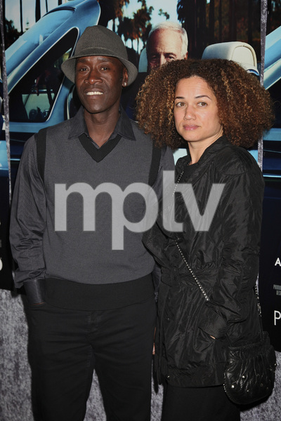"""His Way"" Premiere Don Cheadle, Bridgid Coulter 3-22-2011 / HBO / Paramount Theater / Hollywood CA / Photo by Imeh Akpanudosen - Image 24043_0247"