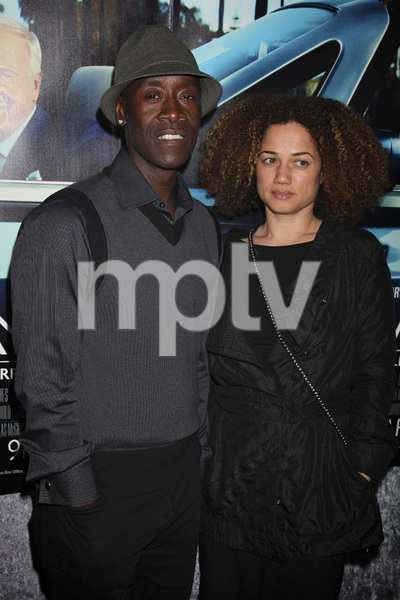 """""""His Way"""" Premiere Don Cheadle, Bridgid Coulter 3-22-2011 / HBO / Paramount Theater / Hollywood CA / Photo by Imeh Akpanudosen - Image 24043_0248"""