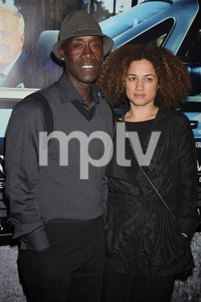 """""""His Way"""" Premiere Don Cheadle, Bridgid Coulter 3-22-2011 / HBO / Paramount Theater / Hollywood CA / Photo by Imeh Akpanudosen - Image 24043_0249"""