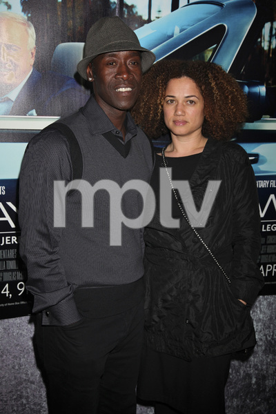 """His Way"" Premiere Don Cheadle, Bridgid Coulter 3-22-2011 / HBO / Paramount Theater / Hollywood CA / Photo by Imeh Akpanudosen - Image 24043_0250"
