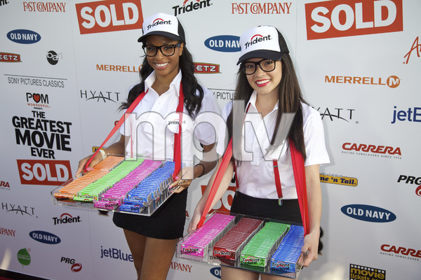 """""""The Greatest Movie Ever Sold"""" Premiere Trident models4-20-2011 / ArcLight Cinemas / Hollywood CA / Sony Pictures Classics / Photo by Imeh Akpanudosen - Image 24045_0002"""