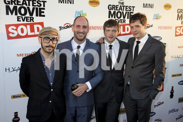 """The Greatest Movie Ever Sold"" Premiere Ok GO (Tim Nordwind, Andy Ross, Dan Konopka and Damian Kulash)4-20-2011 / ArcLight Cinemas / Hollywood CA / Sony Pictures Classics / Photo by Imeh Akpanudosen - Image 24045_0035"