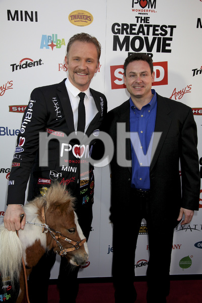 """""""The Greatest Movie Ever Sold"""" Premiere Morgan Spurlock4-20-2011 / ArcLight Cinemas / Hollywood CA / Sony Pictures Classics / Photo by Imeh Akpanudosen - Image 24045_0094"""