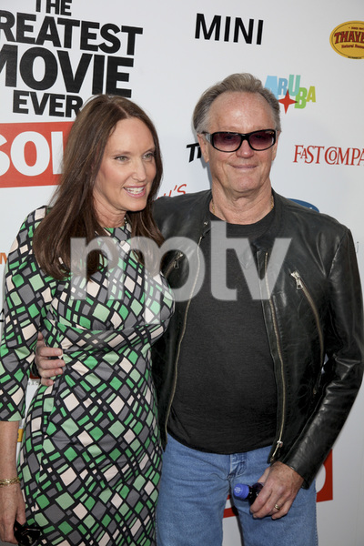 """The Greatest Movie Ever Sold"" Premiere Parky DeVogelaere, Peter Fonda4-20-2011 / ArcLight Cinemas / Hollywood CA / Sony Pictures Classics / Photo by Imeh Akpanudosen - Image 24045_0120"
