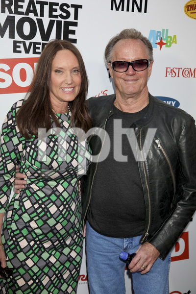 """""""The Greatest Movie Ever Sold"""" Premiere Parky DeVogelaere, Peter Fonda4-20-2011 / ArcLight Cinemas / Hollywood CA / Sony Pictures Classics / Photo by Imeh Akpanudosen - Image 24045_0121"""