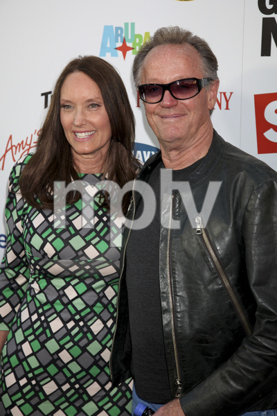 """The Greatest Movie Ever Sold"" Premiere Parky DeVogelaere, Peter Fonda4-20-2011 / ArcLight Cinemas / Hollywood CA / Sony Pictures Classics / Photo by Imeh Akpanudosen - Image 24045_0124"
