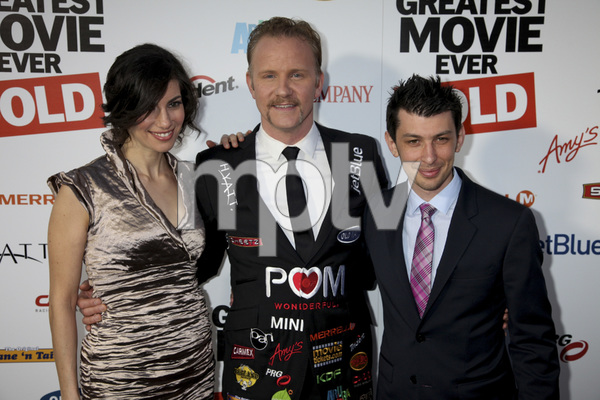 """""""The Greatest Movie Ever Sold"""" Premiere Producer Abbie Hurewitz, Morgan Spurlock, Producer Jeremy Chilnick4-20-2011 / ArcLight Cinemas / Hollywood CA / Sony Pictures Classics / Photo by Imeh Akpanudosen - Image 24045_0183"""