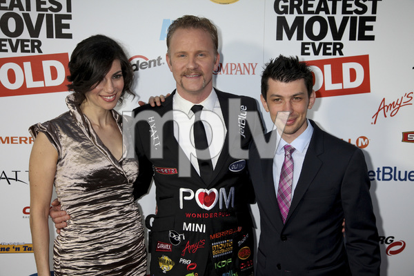 """""""The Greatest Movie Ever Sold"""" Premiere Producer Abbie Hurewitz, Morgan Spurlock, Producer Jeremy Chilnick4-20-2011 / ArcLight Cinemas / Hollywood CA / Sony Pictures Classics / Photo by Imeh Akpanudosen - Image 24045_0185"""