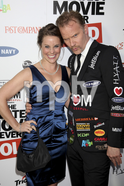 """""""The Greatest Movie Ever Sold"""" Premiere Ashley Williams, Morgan Spurlock4-20-2011 / ArcLight Cinemas / Hollywood CA / Sony Pictures Classics / Photo by Imeh Akpanudosen - Image 24045_0216"""