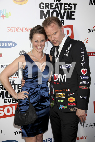"""""""The Greatest Movie Ever Sold"""" Premiere Ashley Williams, Morgan Spurlock4-20-2011 / ArcLight Cinemas / Hollywood CA / Sony Pictures Classics / Photo by Imeh Akpanudosen - Image 24045_0217"""