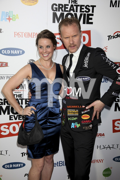 """""""The Greatest Movie Ever Sold"""" Premiere Ashley Williams, Morgan Spurlock4-20-2011 / ArcLight Cinemas / Hollywood CA / Sony Pictures Classics / Photo by Imeh Akpanudosen - Image 24045_0219"""