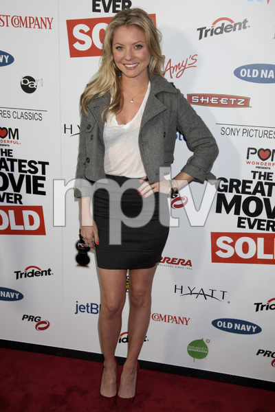 """The Greatest Movie Ever Sold"" Premiere Kaitlin Doubleday4-20-2011 / ArcLight Cinemas / Hollywood CA / Sony Pictures Classics / Photo by Imeh Akpanudosen - Image 24045_0271"