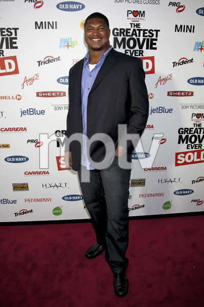 """The Greatest Movie Ever Sold"" Premiere Calais Campbell4-20-2011 / ArcLight Cinemas / Hollywood CA / Sony Pictures Classics / Photo by Imeh Akpanudosen - Image 24045_0300"