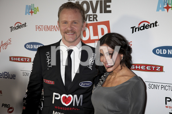 """""""The Greatest Movie Ever Sold"""" Premiere Morgan Spurlock, Carla Ortiz4-20-2011 / ArcLight Cinemas / Hollywood CA / Sony Pictures Classics / Photo by Imeh Akpanudosen - Image 24045_0330"""