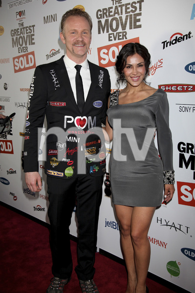"""""""The Greatest Movie Ever Sold"""" Premiere Morgan Spurlock, Carla Ortiz4-20-2011 / ArcLight Cinemas / Hollywood CA / Sony Pictures Classics / Photo by Imeh Akpanudosen - Image 24045_0332"""