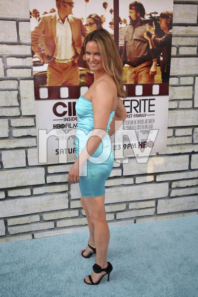 """Cinema Verite"" Premiere Danielle Sapia4-11-2011 / Paramount Theater / Hollywood CA / HBO / Photo by Imeh Akpanudosen - Image 24046_0018"