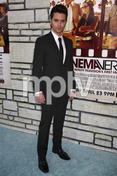 """Cinema Verite"" Premiere  Thomas Dekker4-11-2011 / Paramount Theater / Hollywood CA / HBO / Photo by Imeh Akpanudosen - Image 24046_0138"