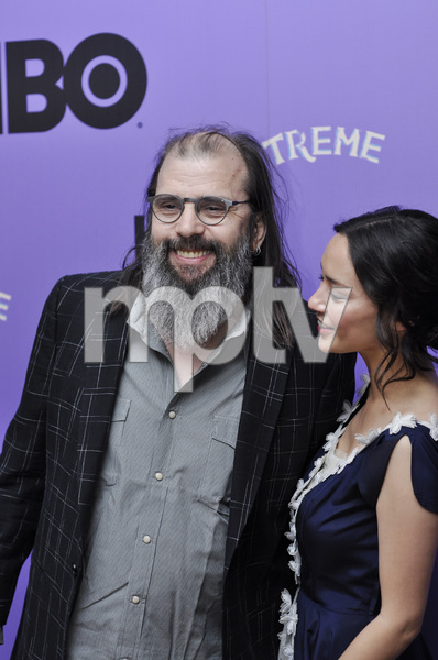 """""""Treme"""" PremiereSteve Earle and Lucia Micarelli4-21-2011 / Museum of Modern Art / New York NY / HBO / Photo by Eric Reichbaum - Image 24047_0047"""