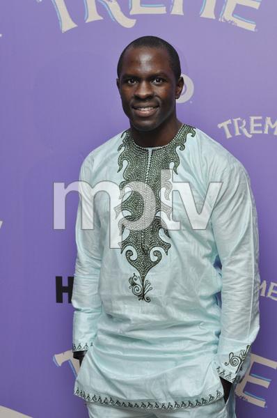 """Treme"" PremiereGbenga Akinnagbe4-21-2011 / Museum of Modern Art / New York NY / HBO / Photo by Eric Reichbaum - Image 24047_0289"