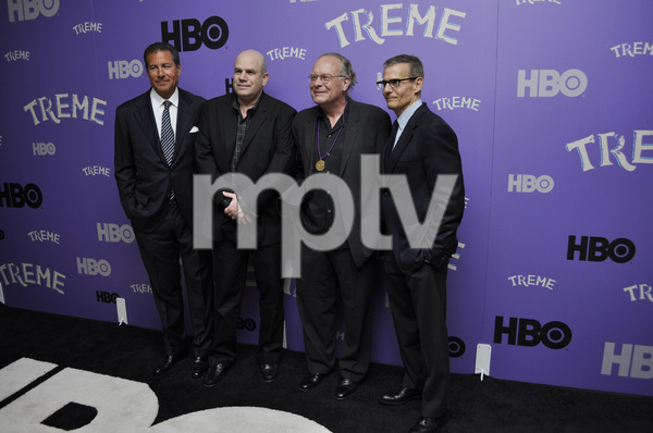 """Treme"" PremiereRichard Butler, creator David Simon, Eric Overmyer and Michael Lombardo4-21-2011 / Museum of Modern Art / New York NY / HBO / Photo by Eric Reichbaum - Image 24047_0328"