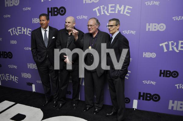 """Treme"" PremiereRichard Butler, creator David Simon, Eric Overmyer and Michael Lombardo4-21-2011 / Museum of Modern Art / New York NY / HBO / Photo by Eric Reichbaum - Image 24047_0329"